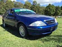 1999 Ford Fairmont AU Ghia Blue 4 Speed Automatic Sedan Clontarf Redcliffe Area Preview