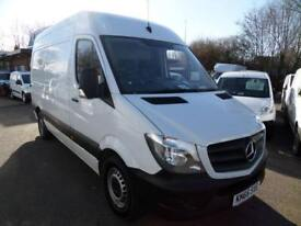 Mercedes-Benz Sprinter 314 MWB 3.5T High Roof Van EURO 6 DIESEL MANUAL (2016)