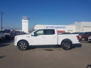 2015 Ford F-150 LARIAT SPORT, SPRAY-LINER, MAX TOW, MOONROOF, PO