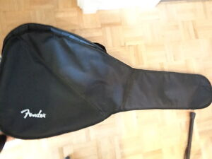 Etui de guitare acoustique souple fender