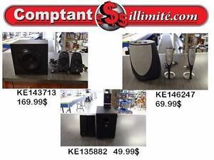 Nous avons les hauts-parleur  dont vous avez besoin chez Comptant illimite.com