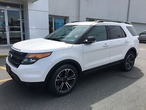2015 Ford Explorer Sport with Navigation and MyFord Touch