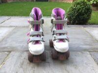 SFR Roller Skates Pink Size 3 - Excellent Condition