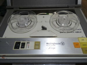 Reel To Reel Tape Recorder Westinghouse.