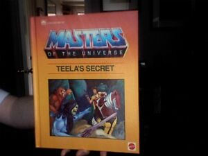 Masters of the Universe, He-Man, She-Ra,Transformers books