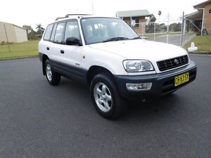 1999 Toyota RAV4 SXA11R Cruiser (4x4) White 4 Speed Automatic Wagon Ballina Ballina Area Preview