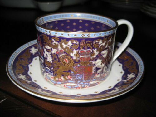 Royal Collection Trust  ~ Queen Elizabeth Coffee Cup & Saucer ~ New ~ England