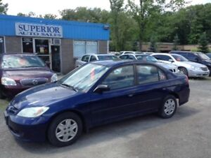2004 Honda Civic Sdn SE Fully Certified! No accidents