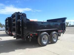 ALL PURPOSE DUMP TRAILER 6 X 12 5 TON WITH COMBO GATE QUALITY London Ontario image 3
