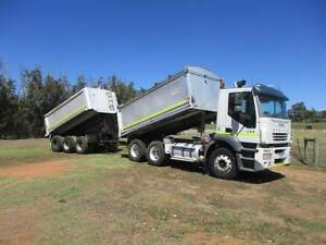 IVECO 6X4 TIPPER AND TRIAXLE PIG TRAILER COMBO. WILL SEPERATE Pickering Brook Kalamunda Area Preview
