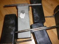 5 X Fence post Drive-in Tool,Fencing, metal work, post anchor X5