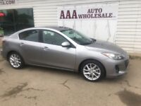 2012 Mazda3 GT, LEATHER LOADED, ONE OWNER ! Edmonton Edmonton Area Preview
