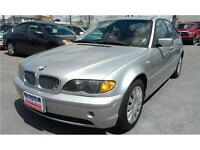 2003 BMW 320i 2.2l, 6CYL, LEATHER, SUNROOF, Fog LIghts
