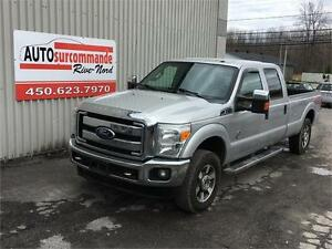 2011 FORD SUPER DUTY F-250 SRW XLT -- DIESEL --