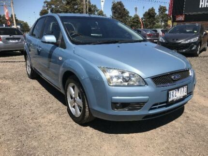 2006 Ford Focus LS LX Blue 4 Speed Automatic Sedan South Geelong Geelong City Preview