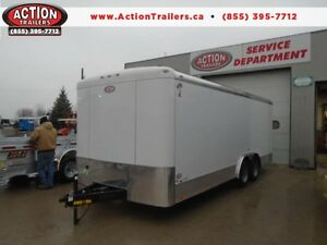 2017 8X20 ENCLOSED CAR HAULER - TONS OF FEATURES, LOW PRICING! London Ontario image 1