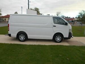 2007 Toyota HiAce KDH201R LWB White 5 Speed Manual Van Beverley Charles Sturt Area Preview