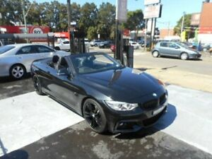 2014 BMW 420d F33 M Sport Convertible 2dr Spts Auto 8sp 2.0DT Black Automatic Convertible Croydon Burwood Area Preview