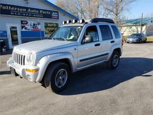 2004 Jeep Liberty Renegade 166k 4x4 Safetied