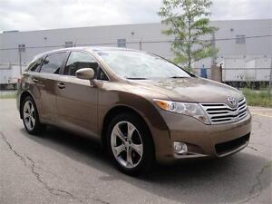 2011 TOYOTA VENZA V6-ONE OWNER,ZERO ACCIDENTS,PANO ROOF,LEATHER