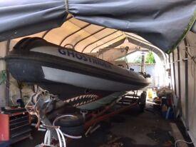8.5M BWM rib with 260 hp diesel