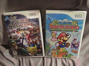 TAKE ALL 3 Nintendo Wii Console Games @ 5.00 a piece