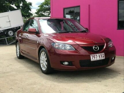 2008 Mazda 3 BK10F2 Neo Red 5 Speed Manual Sedan Archerfield Brisbane South West Preview
