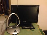 """BUSH LED TV 19"""" WITH FREE VIEW WITH AERIAL"""