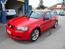 2007 Holden Commodore VE Omega Red 4 Speed Automatic Sedan Christies Beach Morphett Vale Area Preview