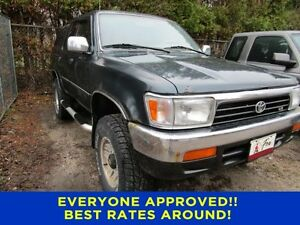1995 Toyota 4Runner SR5 Utilities
