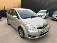 TOYOTA COROLLA VERSO 1.8 VVT-i T3 5dr **CHOICE OF 2*ONE PREVIOUS OWNER*FULL SERVICE HISTORY*7 SEATS*