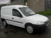 Vauxhall Combo 1.3CDTi 16v 2000 Side Door 71500 Mls mot 24/5/17 Rear Lined Clean