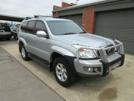 2007 Toyota Landcruiser Prado KDJ120R 07 Upgrade GXL (4x4) Silver 6 Speed Manual Wagon Gilles Plains Port Adelaide Area Preview