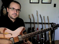Guitar Lessons + Music Theory Lessons (RCM Grades)