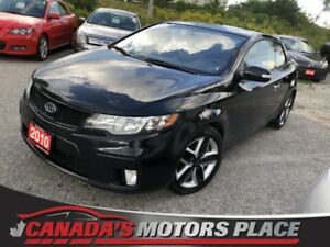 2010 Kia Forte Koup SX SX 5 spd alloys SX 5 spd alloys no accide