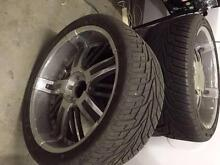 24 inch Hummer Chrome Rims and Tyres Gosnells Gosnells Area Preview