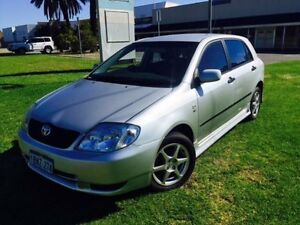 2004 Toyota Corolla ZZE122R Ascent Seca Silver 5 Speed Manual Hatchback Maddington Gosnells Area Preview