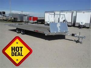 22' 4-Place Snowmobile Trailer by Aluma *Drive-On/Drive-Off*