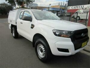 2016 Ford Ranger PX MkII XL 2.2 Hi-Rider (4x2) White 6 Speed Automatic Super Cab Chassis Croydon Burwood Area Preview