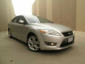 2009 Ford Mondeo MB Titanium Silent Silver 6 Speed Sports Automatic Hatchback Cheltenham Kingston Area Preview