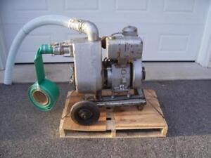 Pompe à eau Monarch 773-GA avec moteur Wisconsin AENLD