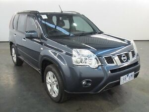 2011 Nissan X-Trail T31 MY11 ST (FWD) Tempest Blue Continuous Variable Wagon Albion Brimbank Area Preview