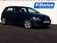 Volkswagen Golf 1.6 SE Tech TDI B/Motion (blue) 2014