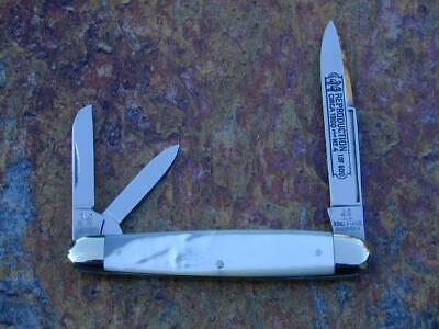 KLAAS KISSING CRANE PEARL WHITTLER KNIFE RARE 1/600 SOLINGEN MINT 1900 REPROD #4