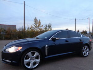 2009 JAGUAR XF 4.2L V8 SUPERCHARGED-NAVI-LEATHER-SUNROOF