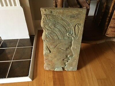 Vintage Museum Quality replica of ancient Egyptian Art in concrete/Pharaoh/Egypt