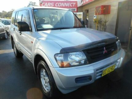 2000 Mitsubishi Pajero NM GLS LWB (4x4) Silver 5 Speed Manual 4x4 Wagon Edgeworth Lake Macquarie Area Preview