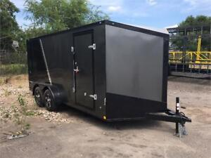 NEW 2019 7X16 18 20 24 ENCLOSED TRAILERS CLEAROUT PRICES