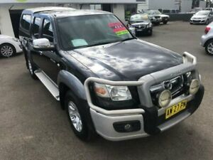 2008 Mazda BT-50 UNY0E3 SDX Black Manual Utility Lansvale Liverpool Area Preview