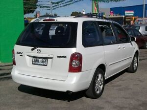 2004 Mazda MPV LW10J2 Luxury Pearl White 5 Speed Automatic Nailsworth Prospect Area Preview